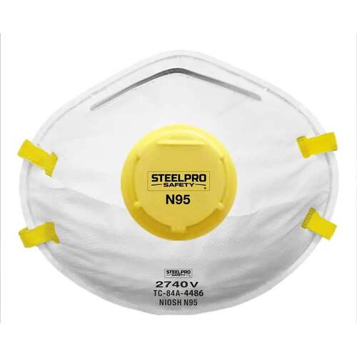 Mascarilla N95 - SteelPRO Safety