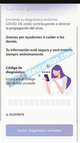 Comunicar positivo COVID19